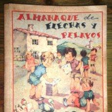 Tebeos: ALMANAQUE DE FLECHAS Y PELAYOS 1942; V FOTOS. Lote 48433903