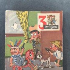Tebeos: 3 AMIGOS FELIZ AÑO 1957. Lote 48712257