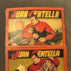 Tebeos: JUAN CENTELLA - 2 ALBUMES - ORIGINAL -HISPANO AMERICANA PRIMERA EDICIÓN,ORIGINAL HISPANO AMERICANA. Lote 48712420