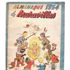 Tebeos: ALMANAQUE DE MARAVILLAS AÑO 1954. Lote 49558324