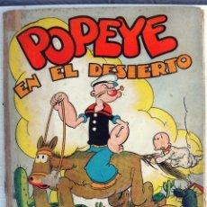 Tebeos: POPEYE EN EL DESIERTO, ALBUM MOLINO Nº 2 , TAPA DURA , GRAN FORMATO, ORIGINAL , H. Lote 49700410