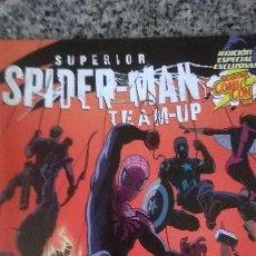 Tebeos: SUPERIOR SPIDER MAN TEAM UP #1- OVNI PRESS - ARGENTINA - (YOST, LÓPEZ, OWENS) - 2013 - UNICO!. Lote 50240038