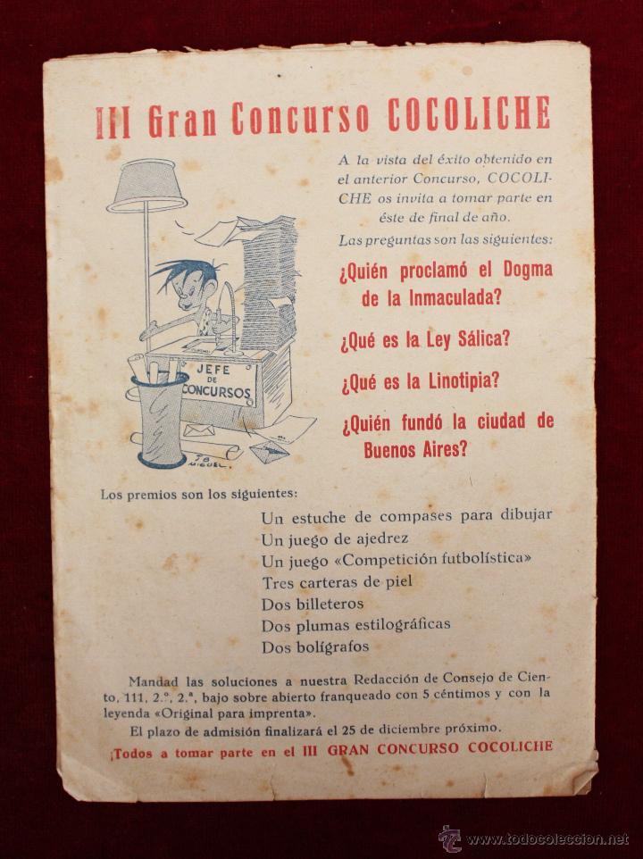 Tebeos: TEBEOS-COMICS - CIMA - Nº 43 - ED. S.A. ESPAÑOLA - 1950 - Foto 2 - 50421803