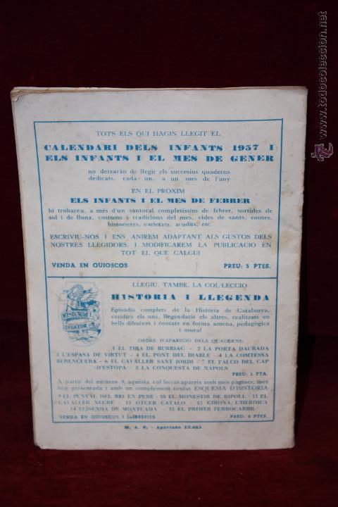 Tebeos: ELS INFANTS I EL MES DE GENER. Hispano Americana de Ed. Años 50. - Foto 2 - 50422039