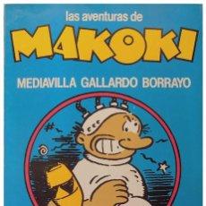 Tebeos: MEDIAVILLA, GALLARDO, BORRAYO – LAS AVENTURAS DE MAKOKI – LAERTES, 1981 (2ª ED.). Lote 50724391