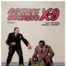 Tebeos: ALEX RAYMOND, DASHIELL HAMMETT - AGENTE SECRETO X-9 VOL. 1 – ED. B.O. 1979. Lote 50754631