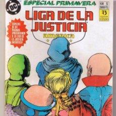 Livros de Banda Desenhada: LIGA DE LA JUSTICIA AMERICANA. ESPECIAL PRIMAVERA. DC / ZINZO (RF.MA) C/40. Lote 50763923