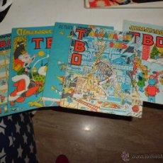 Tebeos: LOTE 6 TBO ALMANAQUES 1969,69,70,75,76,77 VER FOTOS. Lote 51087255