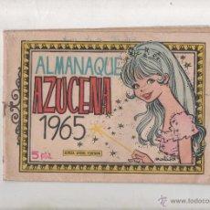 Tebeos: ALMANAQUE AZUCENA 1965 / PORTADA DIBUJO DE MARIA PASCUAL / EDICIONES TORAY - 1965.DA. Lote 51427487