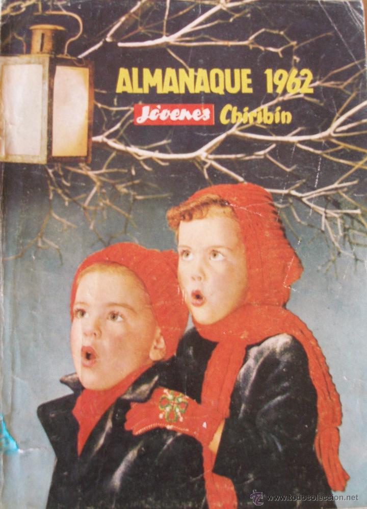 JOVENES CHIRIBÍN ALMANAQUE 1962 (Tebeos y Comics - Tebeos Almanaques)