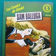 Tebeos: LOS COMICS DE GIMLET. SAM BALLUGA.. Lote 51778886