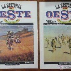Tebeos: LA HISTORIA DEL OESTE. Lote 53652300