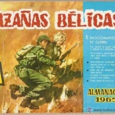 Tebeos: HAZAÑAS BELICAS, ALMANAQUE AÑO 1.965. ORIGINAL, EDITORIAL TORAY. Lote 54155527