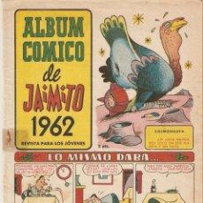 Tebeos: JAIMITO, ALBUM COMICO, AÑO 1.962. ORIGINAL, EDITORIAL VALENCIANA. Lote 54155811