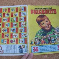 Tebeos: ALMANAQUE PULGARCITO PARA 1950 CJ 1. Lote 54653559