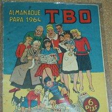 BDs: TBO ALMANAQUE 1964-ORIGINAL - ATRAS CON EL AÑO EN FIESTAS, MUY BONITO- LEER. Lote 55897700