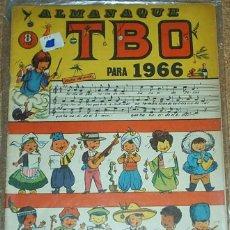 Tebeos: TBO ALMANAQUE 1966-ORIGINAL - T B O- LEER. Lote 55898229