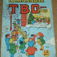 Tebeos: TBO ALMANAQUE 1969-ORIGINAL - T B O- LEER. Lote 55898415