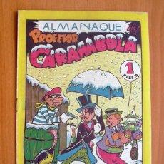 Tebeos: EL PROFESOR CARAMBOLA - ALMANAQUE DE 1946 - EDITORIAL VALENCIANA. Lote 56800144