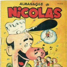 Tebeos: NICOLAS ALMANAQUE 1.952. Lote 57689023