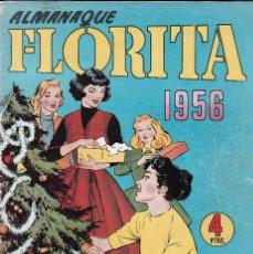 Tebeos: ALMANAQUE FLORITA 1956. Lote 57933504