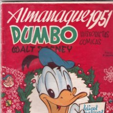 Tebeos: ALMANAQUE DUMBO 1951. Lote 57934864