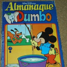 Tebeos: DUMBO ALMANAQUE 1978 - ES EL DE LAS FOTOS- LEER DESCRIP.. Lote 58362502