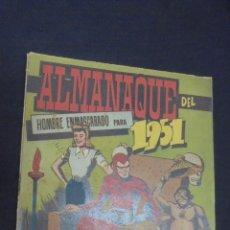 Tebeos: HOMBRE ENMASCARADO - ALMANAQUE 1951 - HISPANO AMERICANA - . Lote 59155415