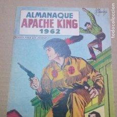 Tebeos: APACHE KING- ALMANAQUE 1962 - MAGA-ORIGINAL - AR.. Lote 63540940