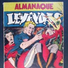 Tebeos: ALMANAQUE LEYENDAS 1946 , HISPANO AMERICANA - DT125. Lote 65246499