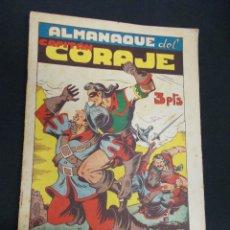 Tebeos: CAPITAN CORAJE - ALMANAQUE 1948 - IRANZO - TORAY - ORIGINAL. Lote 65276795