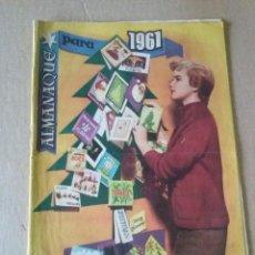 Livros de Banda Desenhada: ALMANAQUE FLORITA 1961- HISPANO AMERICANA - ORIGINAL. Lote 67321337