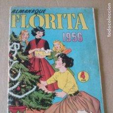 Tebeos: ALMANAQUE FLORITA 1956- CLIPER , GERPLA - ORIGINAL. Lote 67322145