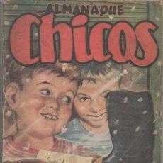 Tebeos: ALMANAQUE CHICOS 1950.DA. Lote 67397205
