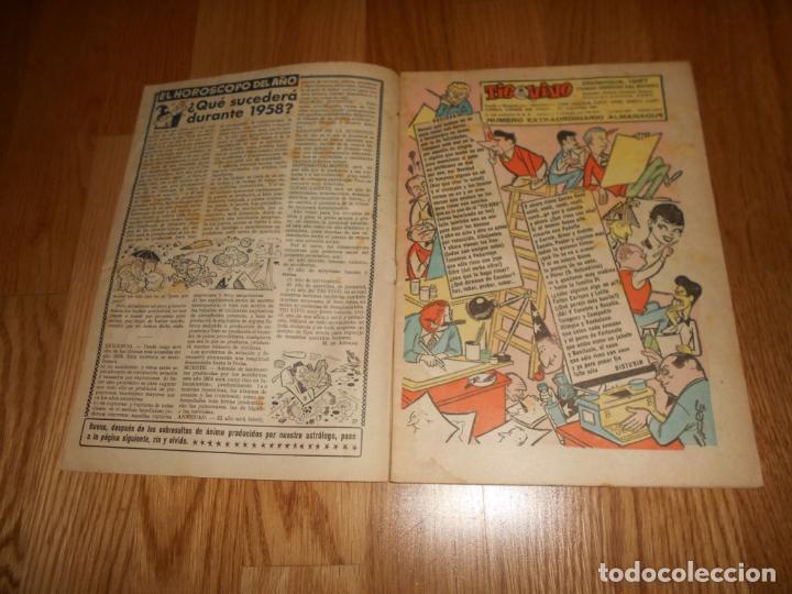 Tebeos: TEBEO COMIC BRUGUERA ALMANAQUE TIO VIVO 1958 PERFECTO 1 DURO - Foto 2 - 67325145
