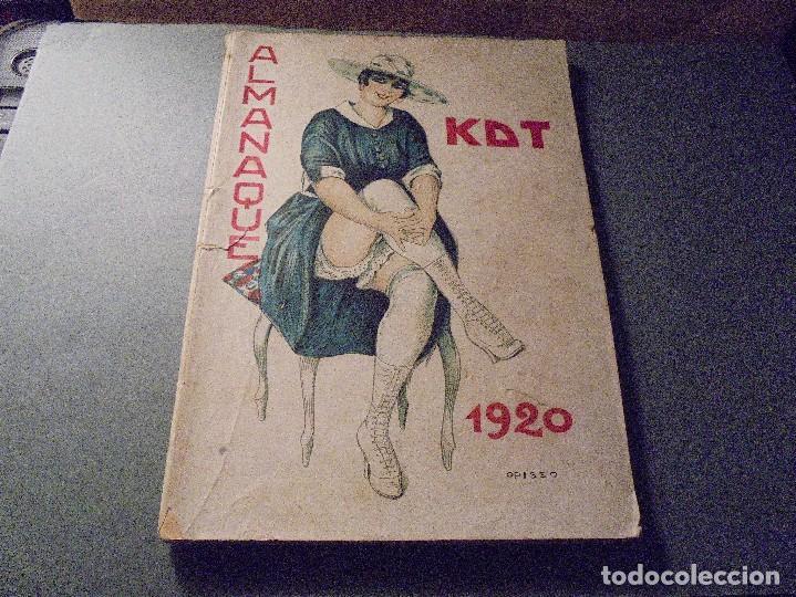 ALMANAQUE KDT 1920 , MUY ILUSTRADO ( PORTADA DE OPISSO INTERIOR BIGRE ) MENDEZ TAVAREZ, L.M. ETC (Tebeos y Comics - Tebeos Almanaques)