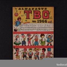 Tebeos: TBO ALMANAQUE, AÑO 1966. Lote 68480777