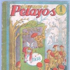 Tebeos: ALMANAQUE PELAYOS 1938 - 132 PGS. 21 X 17 CMS. . Lote 68617273