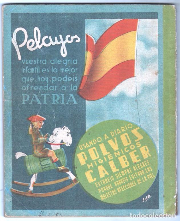 Tebeos: ALMANAQUE PELAYOS 1938 - 132 PGS. 21 X 17 CMS. - Foto 2 - 68617273