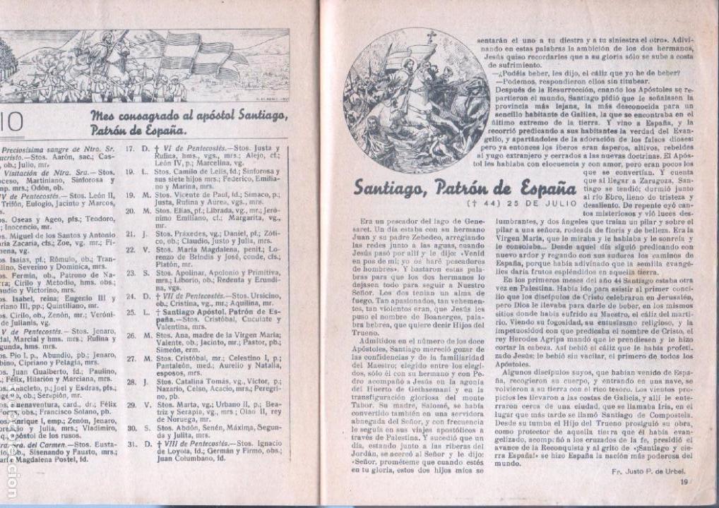 Tebeos: ALMANAQUE PELAYOS 1938 - 132 PGS. 21 X 17 CMS. - Foto 5 - 68617273