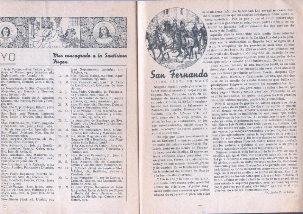 Tebeos: ALMANAQUE PELAYOS 1938 - 132 PGS. 21 X 17 CMS. - Foto 7 - 68617273