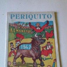 almanaque periquito ,1942 - marco -original -nuevo- rarito