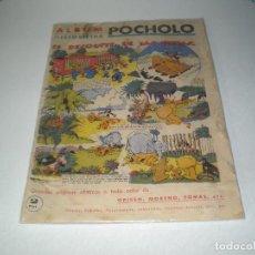 Tebeos: ALBUM HISTORIETAS DE POCHOLO MUY, MUY DIFICIL CON LOS MEJORES DIBUJANTES. Lote 70227697