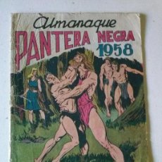 Comics - almanaque pantera negra -1958- maga -original - 70390649