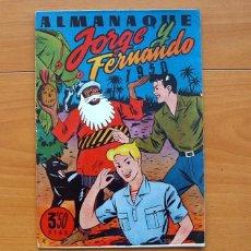 Tebeos: JORGE Y FERNANDO - ALMANAQUE 1950 - EDITORIAL HISPANO AMERICANA. Lote 72891127