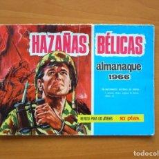 Tebeos: ALMANAQUE HAZAÑAS BELICAS 1966 - EDICIONES TORAY. Lote 72895755