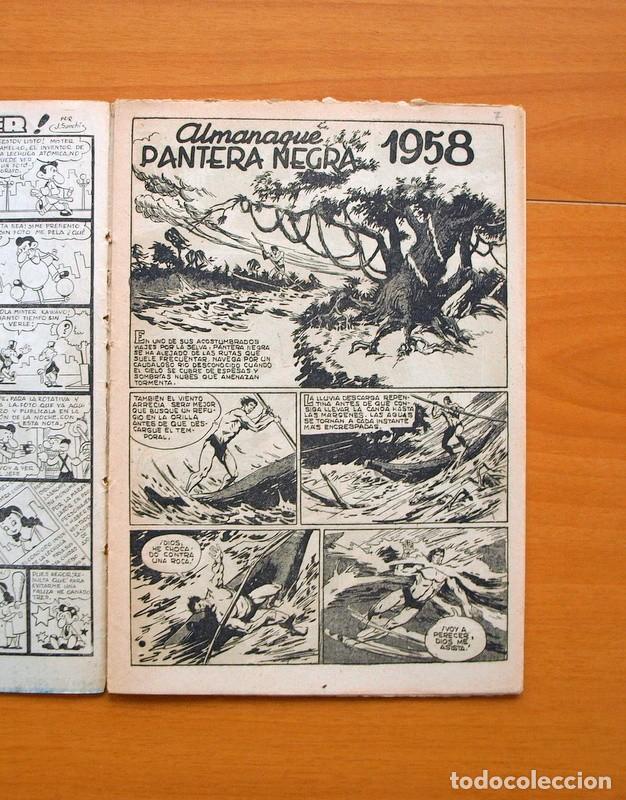 Tebeos: Pantera Negra - Almanaque 1958 - Editorial Maga - Foto 2 - 73621999