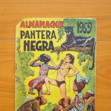 Comics - Pantera Negra - Almanaque 1959 - Editorial Maga - 73622647