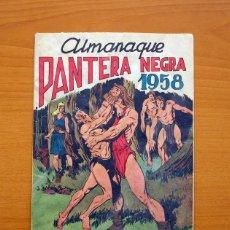 Comics - Pantera Negra - Almanaque 1958 - Editorial Maga - 73632603