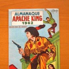 Tebeos: ALMANAQUE APACHE KING 1962 - EDITORIAL VALENCIANA. Lote 73676143